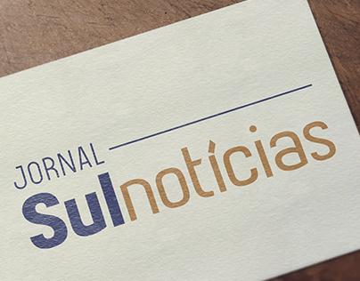 Logo + editorial, Jornal Sul Notícias