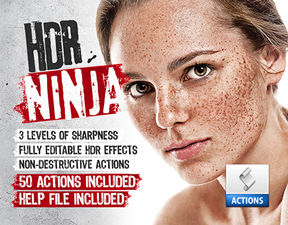 HDR Ninja - 50 Premium Photoshop Actions