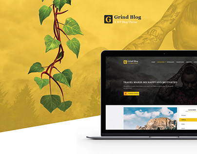 Grind Blog and Magazine Template