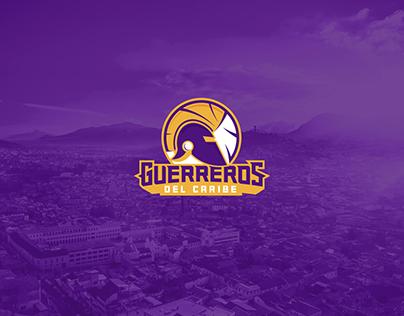 Logo deportivo Guerreros del Caribe