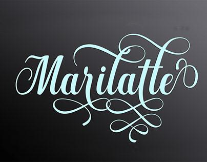 marilatte script