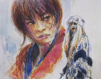 Samurai X (Fan art)