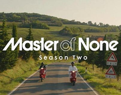 MASTER OF NONE season 2 ep.1-2 Costume Supervisor