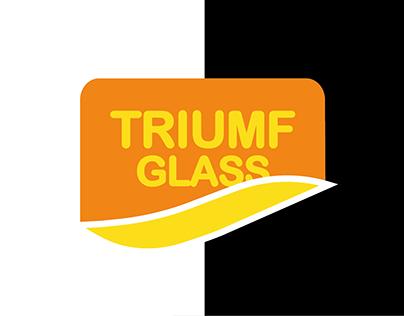 Triumf glass re-brand logotype