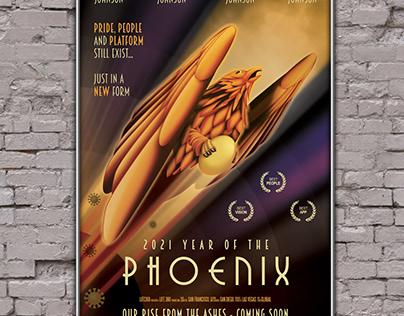 2021 Phoenix Movie - Poster Design