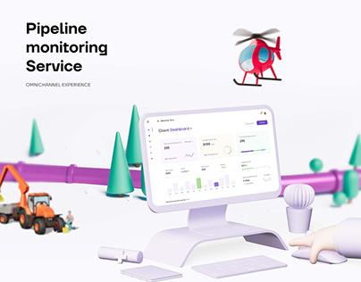 Mobile & Web app for pipeline motioring service