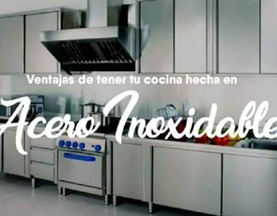 CAMPAÑA ACERO INOXIDABLE