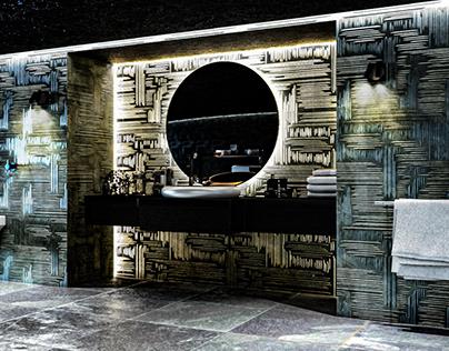 Interior Design Concept - Modern Bathroom