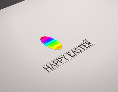 Happy Easter 2014 Logo