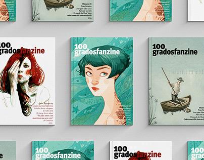 100 Grados fanzine 2011 - 2017