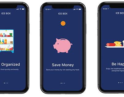ICE BOX - App Concept