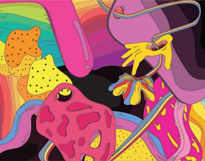 Digital Illustration - 'Arousal'