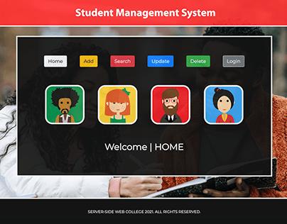 Student Management System, Website & Database