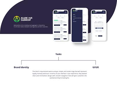 UI/UX and Branding for Ajde na odmor