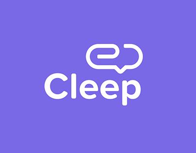 Cleep - Logotype