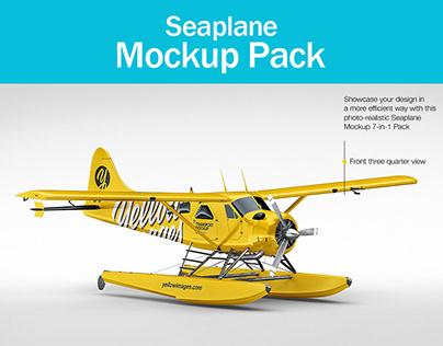Seaplane Mockup Pack