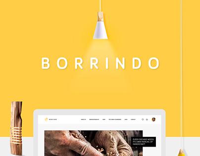 Borrindo - Rebranding
