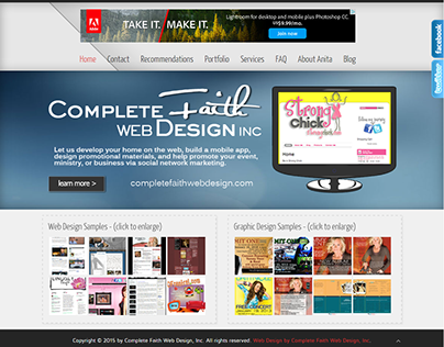 My Business Website - Completefaithwebdesign.com
