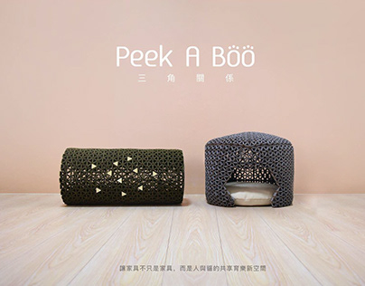 2018 | Peek A Boo | Cat Furniture Design