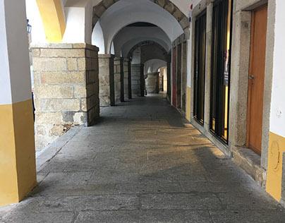 Doors, windows, and aisleways