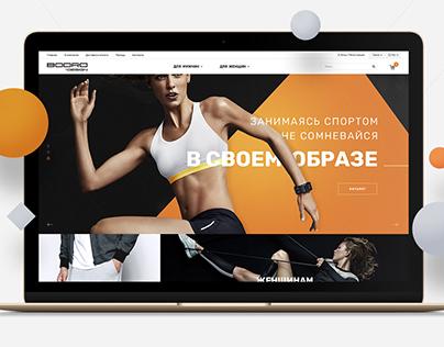 Bodro - E-commerce project