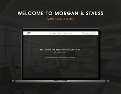 Family Law - Website Design - Carmine Cloak