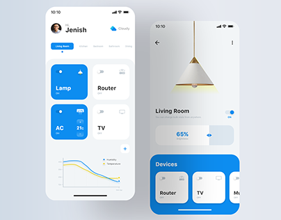 Home Automation App UI