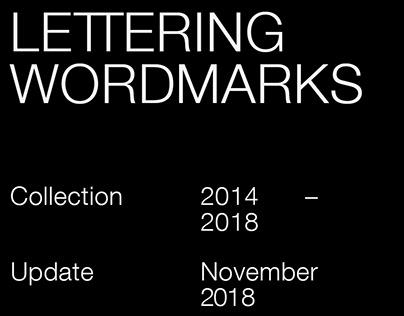 Lettering wordmarks