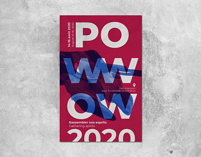 Affiche - Pow wow