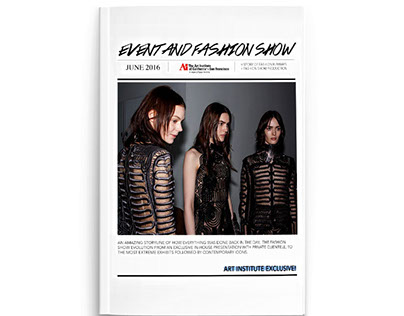 Event and Fashion Show Production Journal