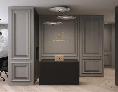 CYNAMONOWE DAY SPA | beauty salon| interior design