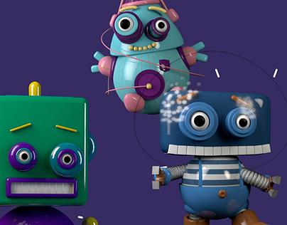 Les bébés robots à la conquête du web