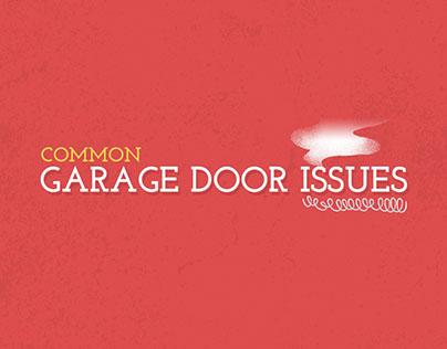 Garage Door Issues Info Graphic