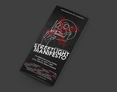 Streetlight Manifesto - Playbill design