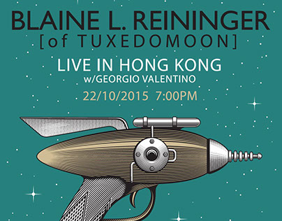 Blaine L. Reininger - Music Poster, Tickets, TShirts