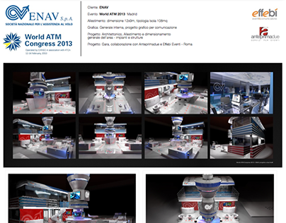 ENAV World ATM Congress Allestimento e grafica