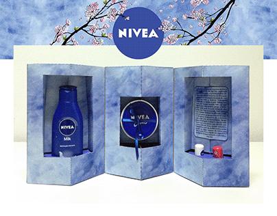 Embalagem promocional Nivea