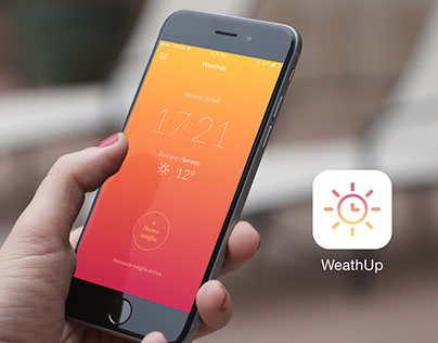 WeathUp - Smart alarm clock iOS concept