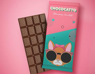 Chococatto - Logo & Brand Identity