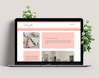 Website Design   Bakery & Pastry
