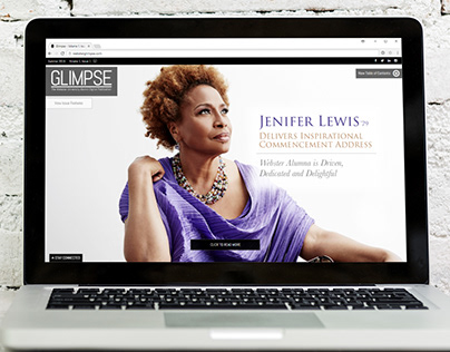 Glimpse: The Webster U Alumni Digital Publication