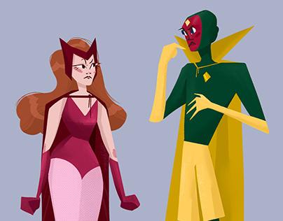 WandaVision characters