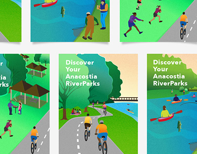 Discover Your Anacostia RiverParks Poster Series