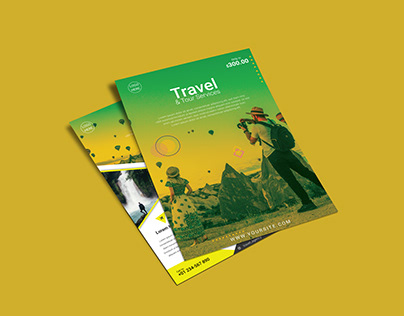 Travel & Tour Flyer Design