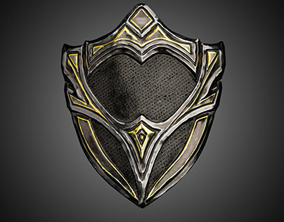 Metal Shield for Warrior concept