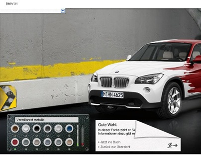 BMW X1 launch campaign
