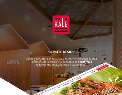 MR KALE - DISEÑO WEB