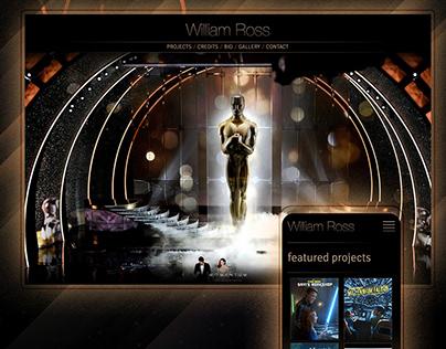 William Ross Website Design