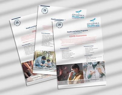 GD Goenka Healthcare Leaflet