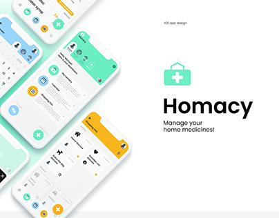Homacy - mobile app